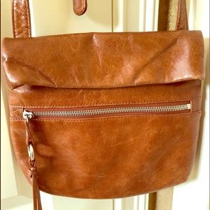HOBO crossbody adjustable strap leather purse